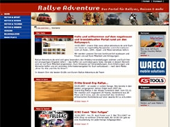 Rallye Adventure Website